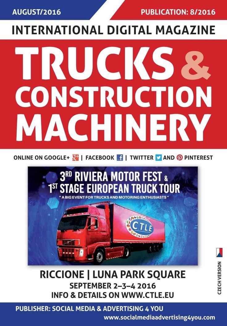 TRUCKS & CONSTRUCTION MACHINERY - August 2016