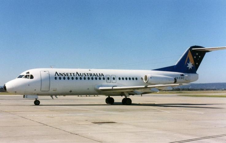 ANSETT AUSTRALIA Fokker F28 Fellowship (VH-EWC)