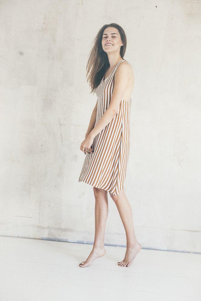 Twist back dress | Boho