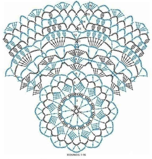Салфетки. / Вязание крючком / Вязание крючком для начинающих