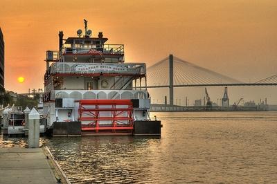 Savannah River Queen, Savannah, Georgia