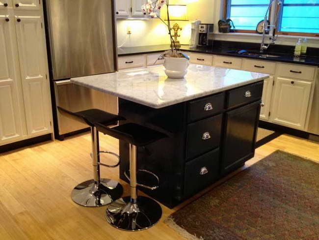 best 25 small kitchen islands ideas on pinterest small. Black Bedroom Furniture Sets. Home Design Ideas
