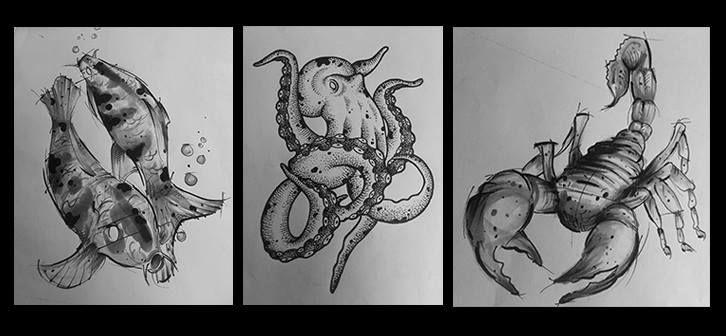 Tattoo Studio Toronto  Scorpio Tattoos Pinterest Studios