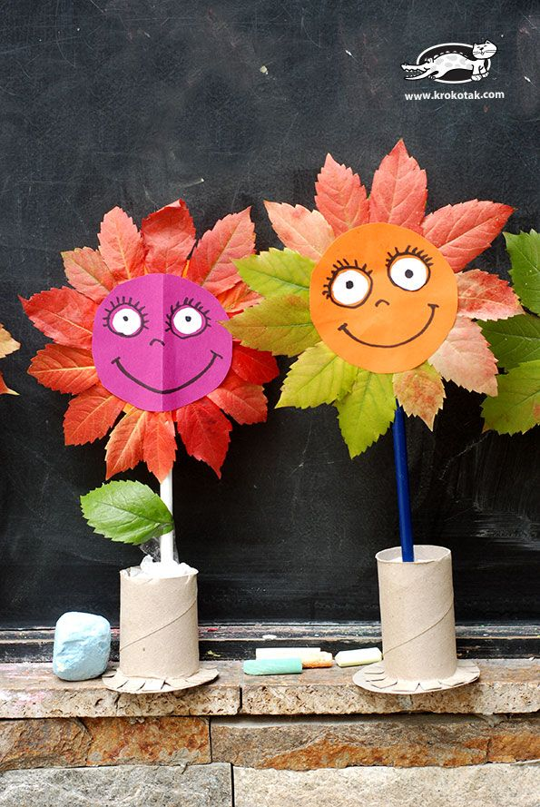 fall flower craft