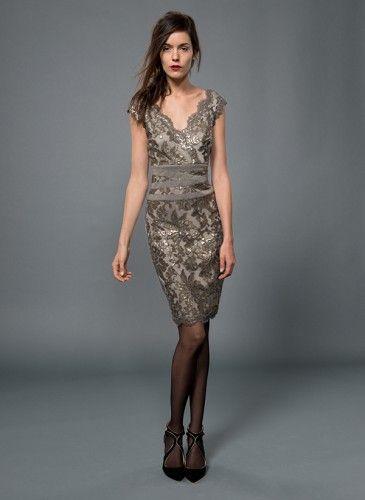 #tadashishoji #evening #dress #short #sequin