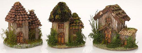 Indoor fairy houses