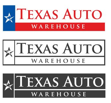 Logo Design for Texas Auto Warehouse #logoinspiration