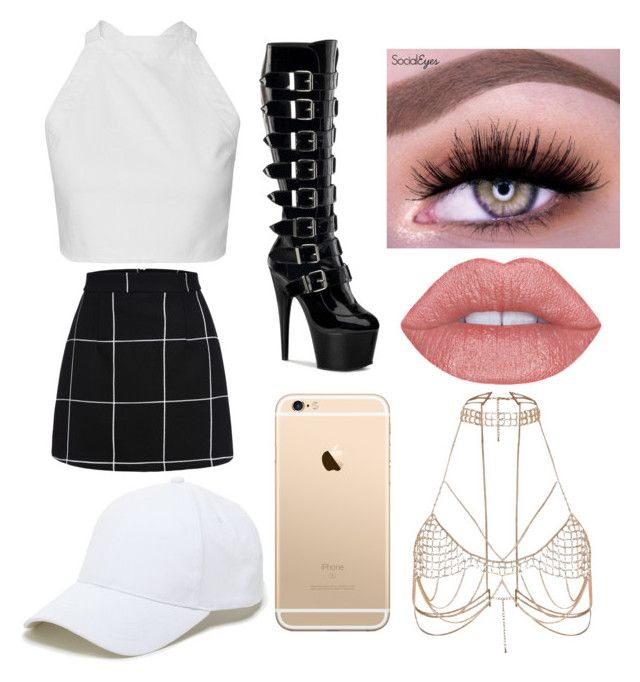 """Untitled #61"" by valentina-carvajal92005 on Polyvore featuring Sole Society and River Island"