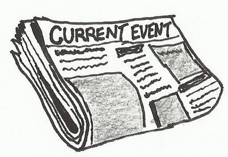 News Paper Clipart or Cartoon. Current Event | Cartoons ...