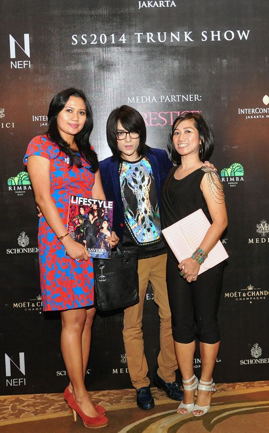 Mr. Tex Saverio with the invitees