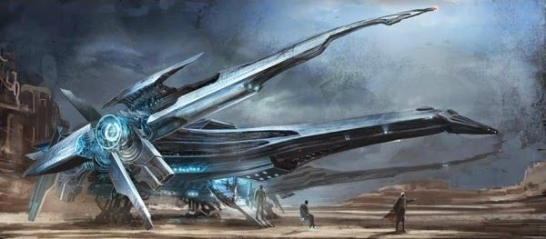 Awesome Future X-Jet and Xavier X-MEN: DAYS OF FUTURE Concept Art by Henry Fong « Film Sketchr