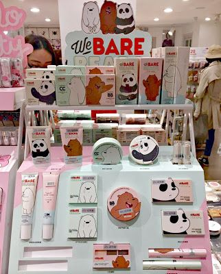 The Rebel Sweetheart.: Sneak Peek | Miniso x We Bare Bears Collection.