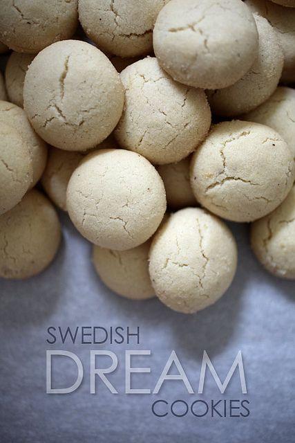 Swedish Dream Cookies by Bakerella, via Flickr