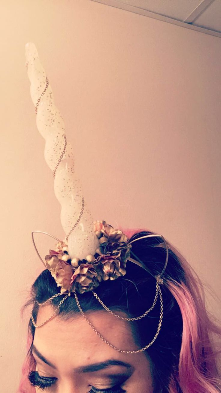 #diy unicorn headband
