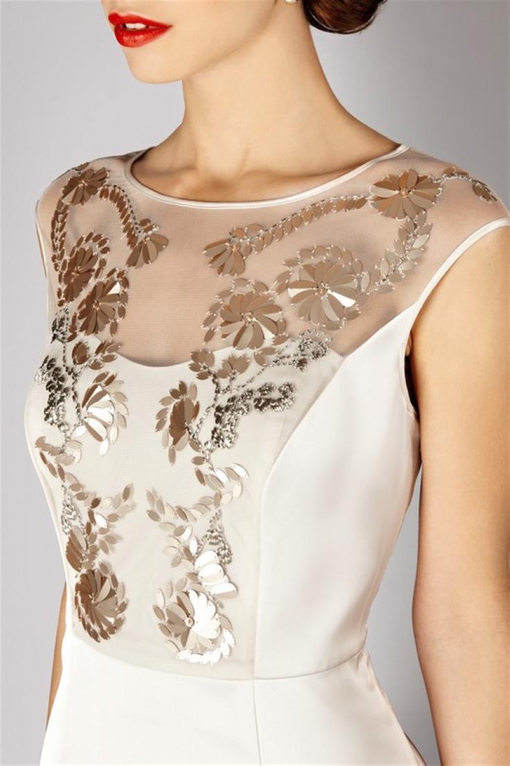 Hip Paillette Lace Dress with Trends:Dressfirm.com
