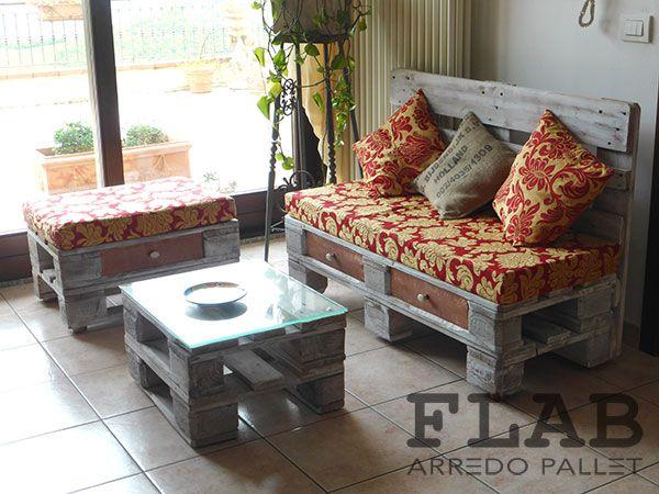 Divani in PALLET - FLAB Arredo Pallet | Arredamento in pallet per la casa