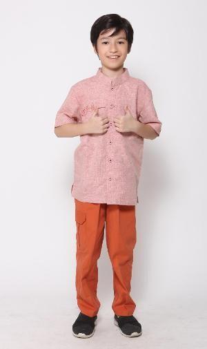 Baju Muslim Anak Majma Kids 12 Coklat - BIG SALE