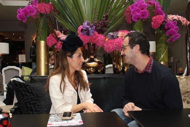 Francesco Ballestrazzi, cappelli divertenti, cappelli che sono accenti di abiti