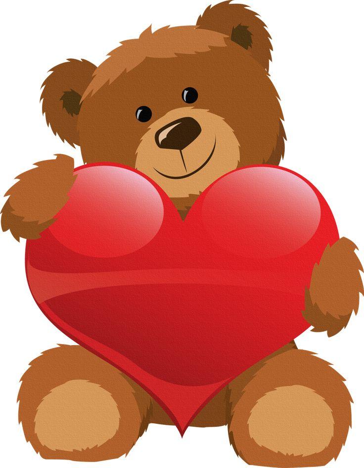 Ms de 25 ideas increbles sobre Oso con corazon en Pinterest