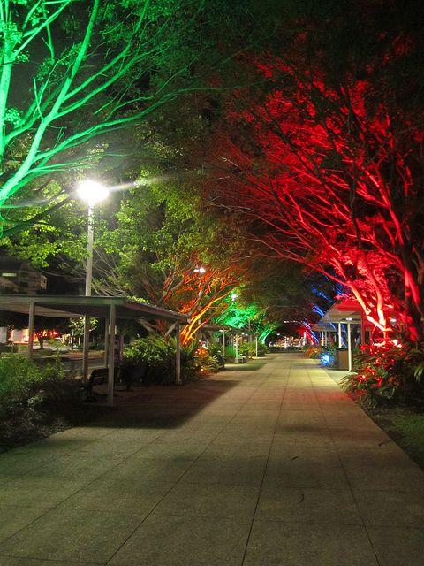 Esplanade, Cairns Queensland, Australia