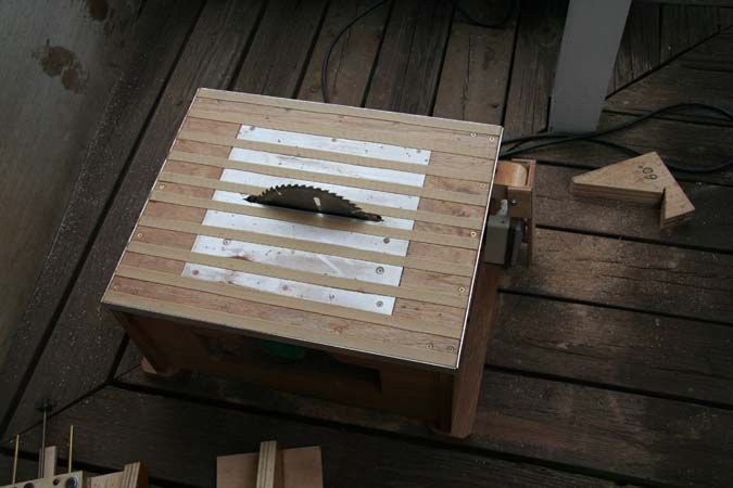 Home made Table Saw for Pen Making - International Association of Penturners