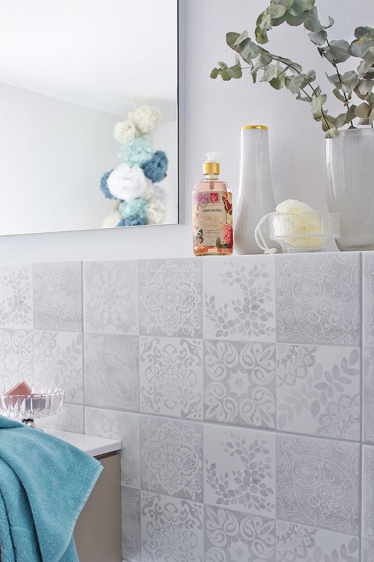 WohnDirWas – tile trends for the bathroom