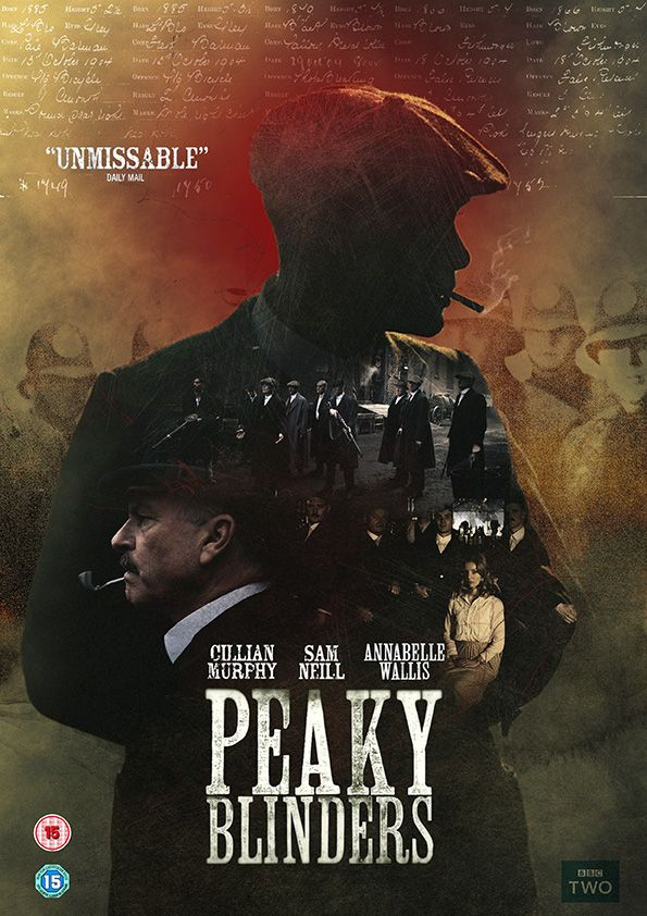 Peaky Blinders poster - Dope. Binged watch this last week and I highly recommend it