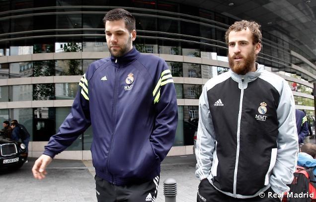 Felipe Reyes y Sergio Rodriguez.