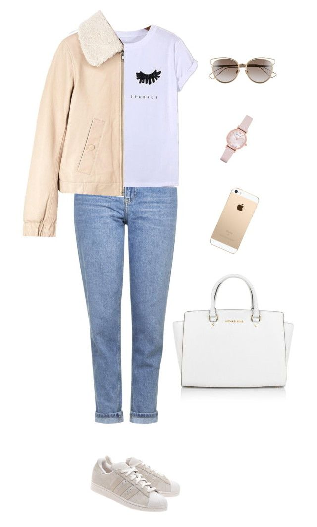 """Untitled #96"" by brandonaddict on Polyvore featuring Topshop, Chicnova Fashion, See by Chloé, adidas Originals, Michael Kors, Christian Dior and Emporio Armani"