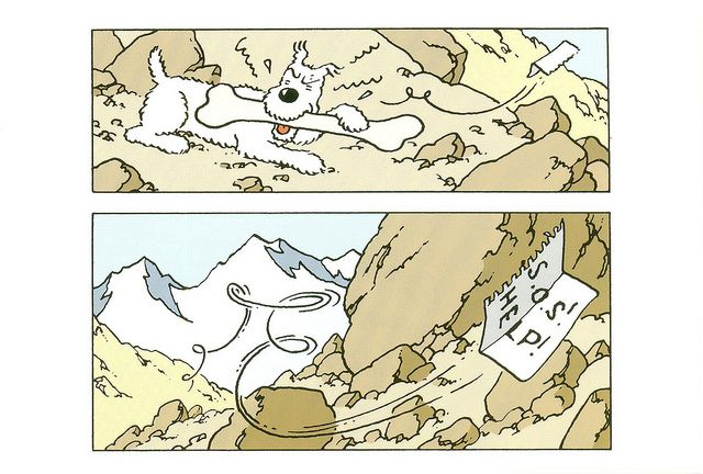 'The Adventures of Tintin: Into Tibet' by Hergé
