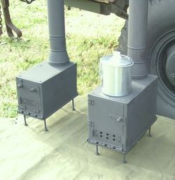 Review of Ammo Can Stove (useful for small scale heating and cooking)