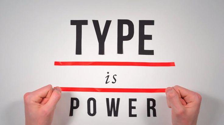 No me toques las Helvéticas | Blog sobre diseño gráfico y publicidad: La Historia de la Tipografía en stop-motion