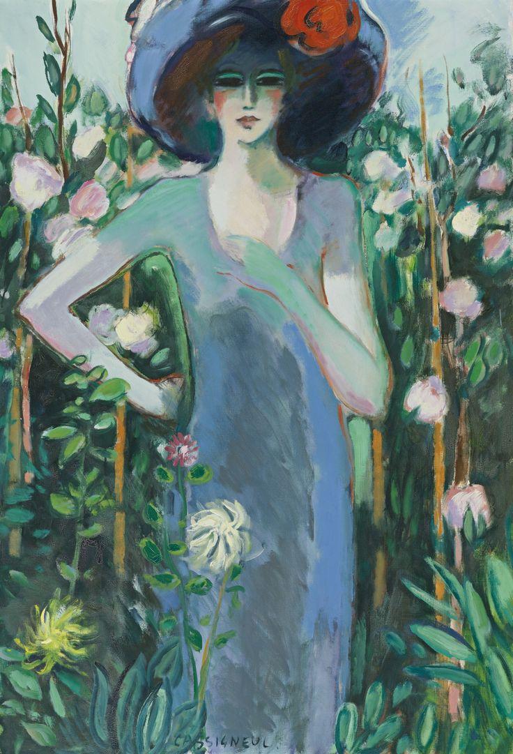 Kees Van Dongen  ~Repinned Via Amy Hampton http://www.sothebys.com/en/auctions/ecatalogue/2013/impressionist-modern-art-day-sale-n09036/lot.250.html
