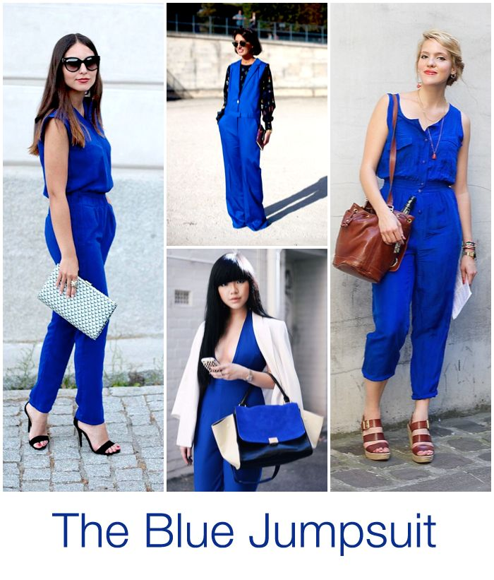 #Trend: Yves Klein Blue Jumpsuits