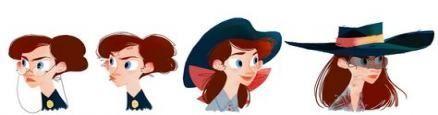Super Zeichnung Tutorial Frau Gesicht Charakter Design-Ideen, #animationideasforbeginners #chara …