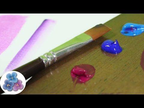 Pintura Acrilica: Como Pintar con Acrilicos de Tubo *Acrylic Paint* Tecn...