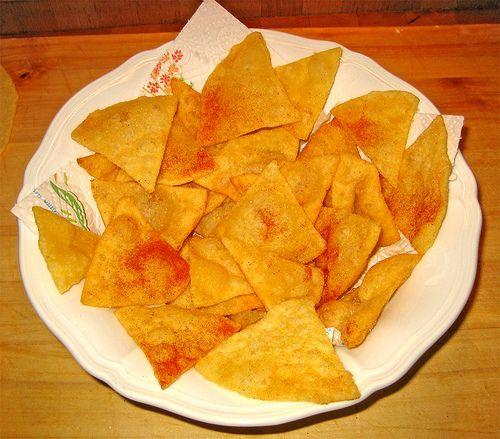 Il mondo di Luvi: Nachos fritti (o al forno)