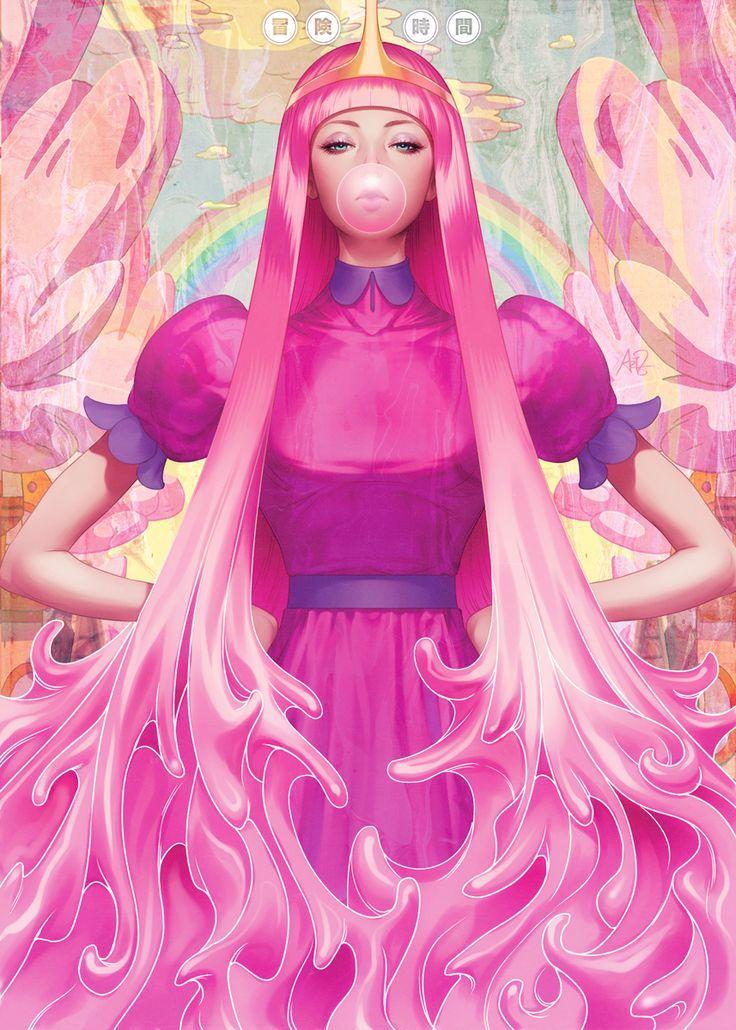 // Princess Bubblegum por Artgerm //