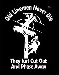 This is a great one for a soon to be retired lineman!
