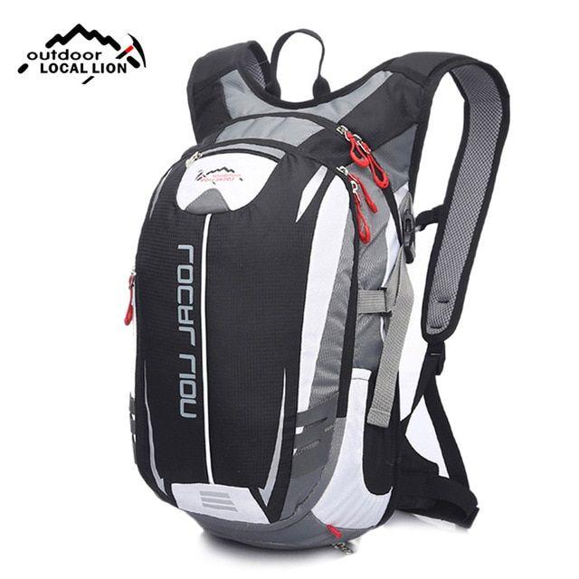 244f6cf7c8d8 LOCALLION 18L Mountain Bike Backpack Male Black White Patchwork Reflective Cycling  Backpacks for Teenage Girls Rucksack
