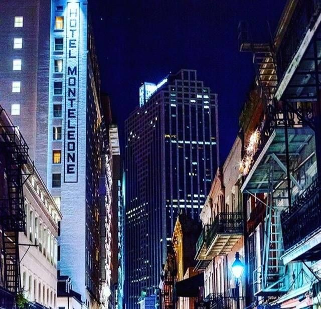Unforgettable New Orleans nights start at our front door. (Photo by @catlandrum via Instagram)