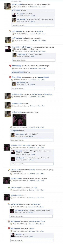 Funny facebook quotes status updates profile pics - 20 Funny Facebook Status Updates