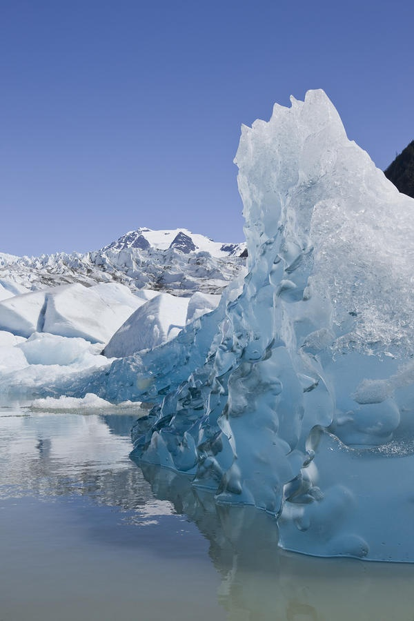 ✮ Glacier in Mendenhall Lake