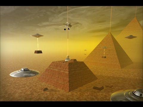 Los verdaderos constructores de pirámides el Hombre o Alienigenas extraterrestres Documental