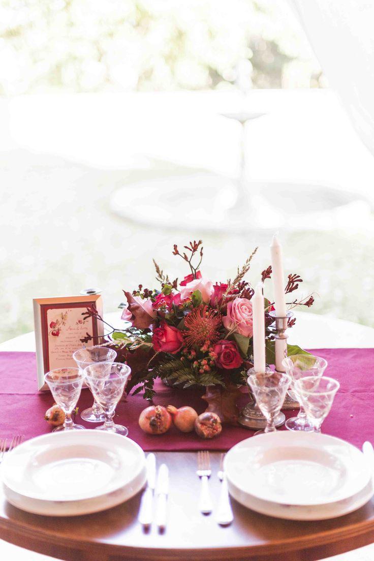 Matrimonio Autunno in Umbria - Mise en place-