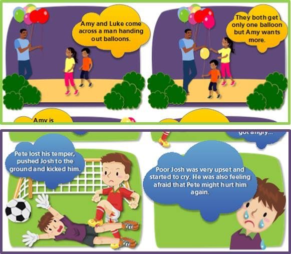 Play these interactive comics about bullying FREE this week: http://e2zed.co.za/youth/