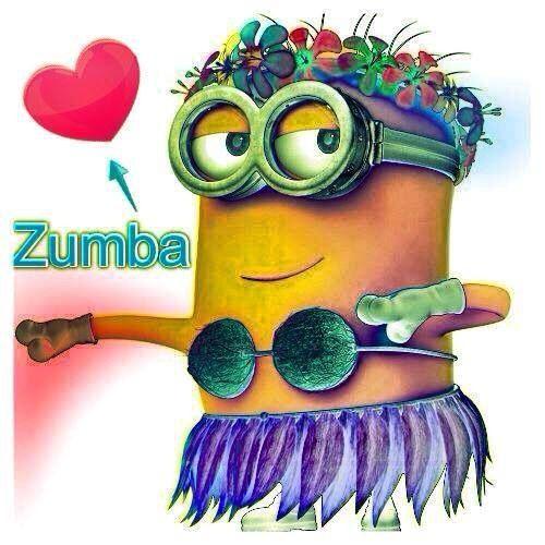 Hawaiian Zumba® minion ~ Almost time for Aqua Zumba® www.redwards.zumba.com or www.fb.com/ZumbaFitnessWithBecky