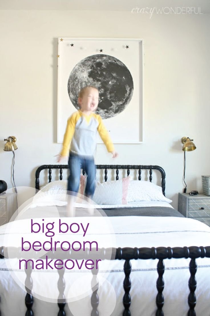 Delightful ... Will Come To Transition Your Little Oneu0027s Nursery Into A Big Kid Bedroom  Sooner Than You Think. Start Planning Now With This Big Boy Bedroom  Makeover.