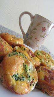 Paleo breakfast - omelet muffins! Sounds like an awesome idea! I'd substitute a home-made turkey sausage to cut out the fat and sodium that comes with bacon.