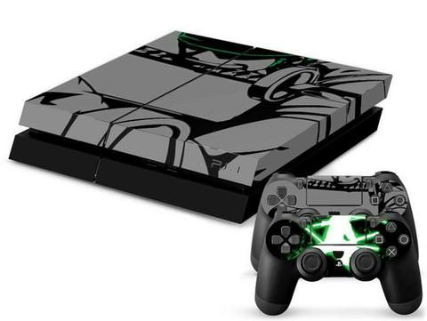ModFreakz® Console/Controller Vinyl Skin Set – Ninja Green Sword for PS4 Original. Perfect gaming accessories for PS4 gamers, gamer girls, gamer coup…